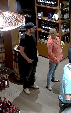 c4467748 ... at 9891 Seaport Place, Sidney, BC. that occurred on August 17 & 28,  2018. Investigators are looking to identify the male & female in these  photos.